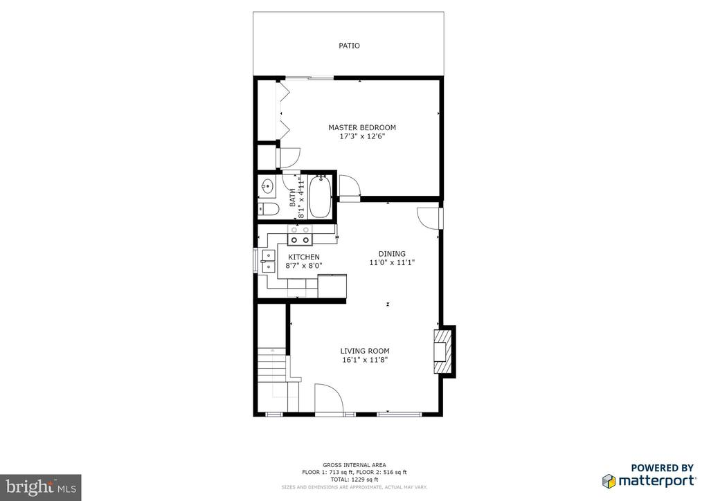 Main level floor plan - 35387 WILDERNESS SHORES WAY, LOCUST GROVE