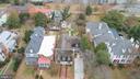 Arial shot showing entire property - 303 CAROLINE ST, FREDERICKSBURG