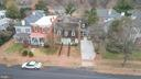 Arial shot showing how large the home actually is - 303 CAROLINE ST, FREDERICKSBURG