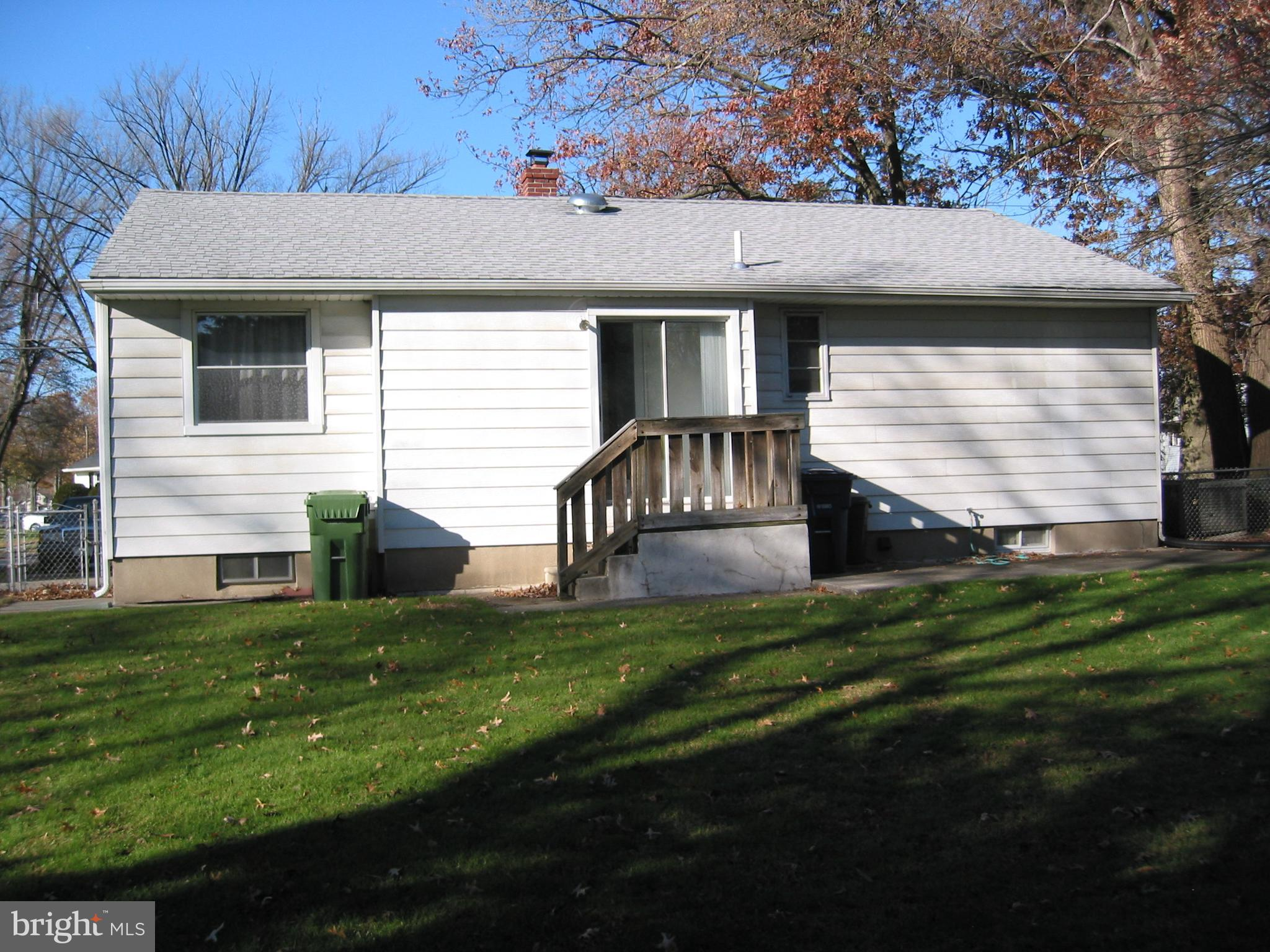 Rear of Home with Patio