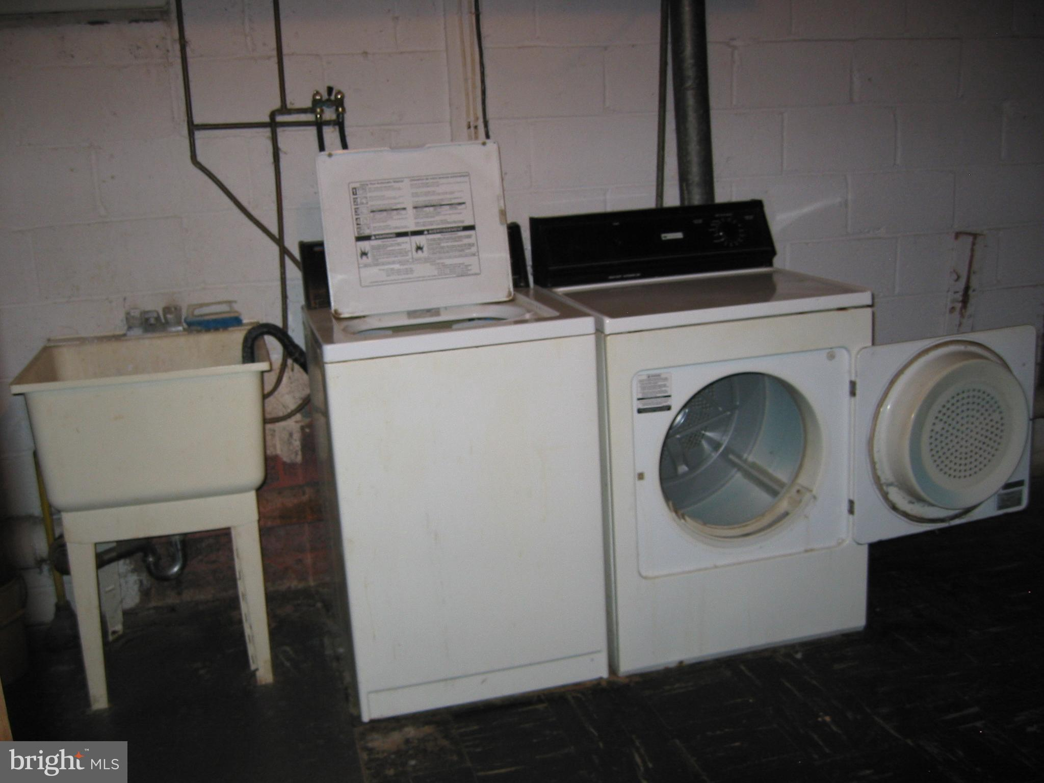 Basement Laundry Area
