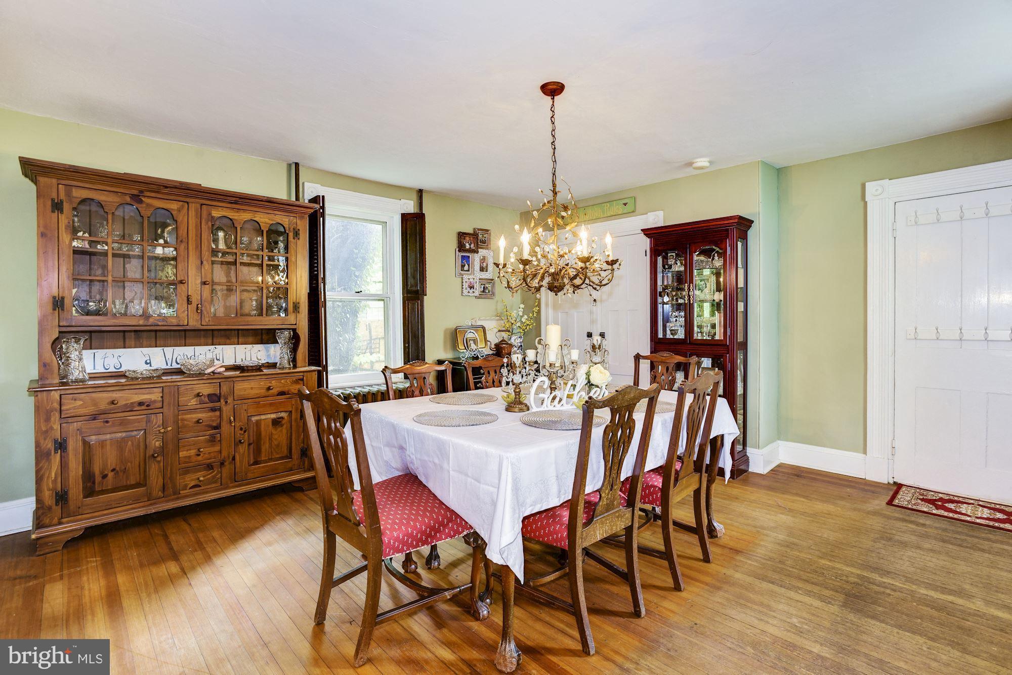 Original Cabinetry has pass thru to Kitchen