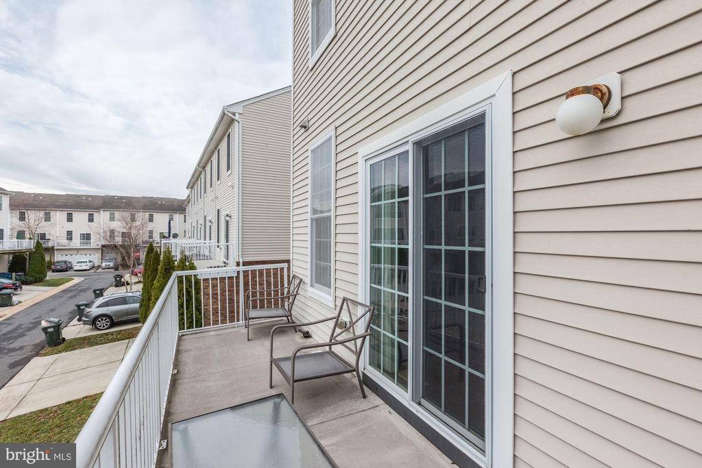Balcony Off Kitchen - 42915 PAMPLIN TER, CHANTILLY