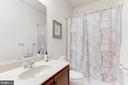 Full Bath on Lower Level - 42915 PAMPLIN TER, CHANTILLY