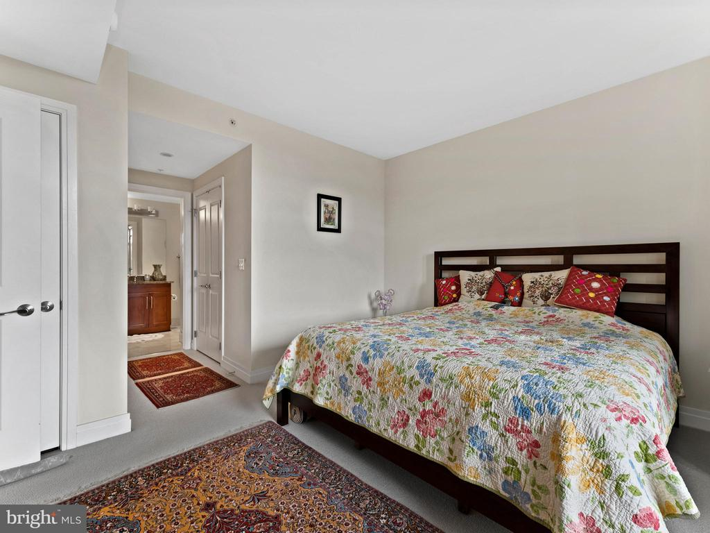 Master Bedroom w/ Private Full Bath - 8220 CRESTWOOD HEIGHTS DR #511, MCLEAN