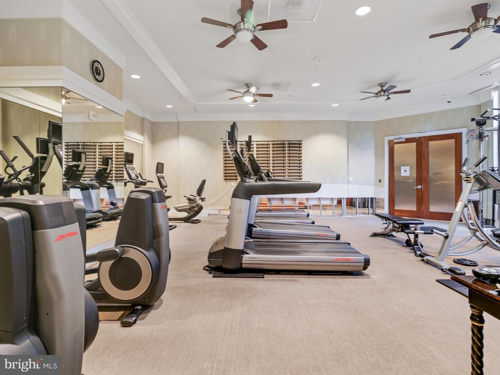 Community Gym - 8220 CRESTWOOD HEIGHTS DR #511, MCLEAN