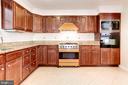 Kitchen - Loads & Loads & Loads of Cabinets! - 6813 JEFFERSON AVE, FALLS CHURCH