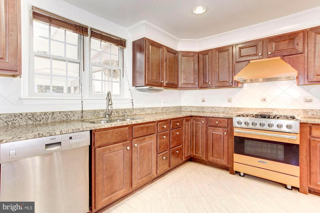 Kitchen - Tons of Counter Top Space for Meal Prep! - 6813 JEFFERSON AVE, FALLS CHURCH