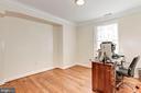 Bedroom #5 - Hardwood Floors, Light, & Bright! - 6813 JEFFERSON AVE, FALLS CHURCH