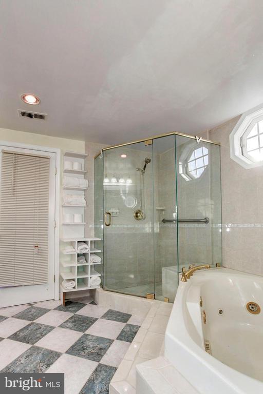 Master Bathroom - Tile Flooring & Soaking Tub! - 6813 JEFFERSON AVE, FALLS CHURCH