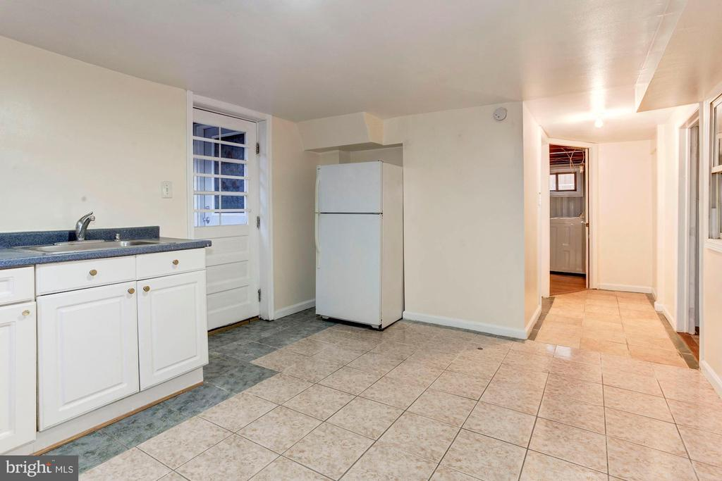Basement - More Bonus Space to Use as You Wish! - 6813 JEFFERSON AVE, FALLS CHURCH