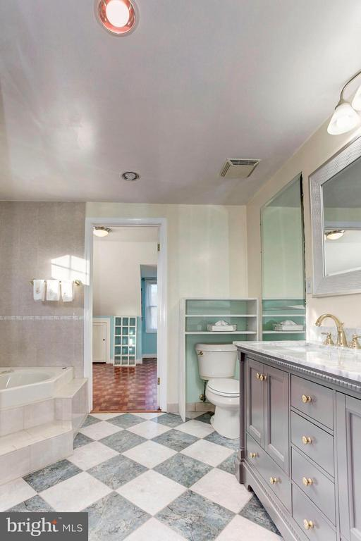 Master Bathroom - As Big As Some People's Bedrooms - 6813 JEFFERSON AVE, FALLS CHURCH