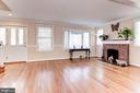 Living Room - Light, Bright, Airy, & Spacious! - 6813 JEFFERSON AVE, FALLS CHURCH