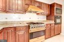 Kitchen - Complete with a Viking Gas Oven/Range! - 6813 JEFFERSON AVE, FALLS CHURCH