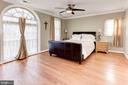 Master Bedroom - Located on Upstairs Level of Home - 6813 JEFFERSON AVE, FALLS CHURCH
