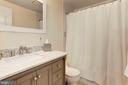Full Bathroom #2 - Located on Upstairs Level! - 6813 JEFFERSON AVE, FALLS CHURCH