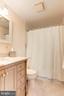 Full Bathroom #2 - Brand New Vanity & Mirror! - 6813 JEFFERSON AVE, FALLS CHURCH