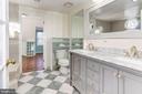 Master Bathroom - Brand New Vanity, Mirror, Lights - 6813 JEFFERSON AVE, FALLS CHURCH