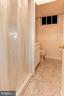 Full Bathroom #4 - Located in Lower Level of Home! - 6813 JEFFERSON AVE, FALLS CHURCH