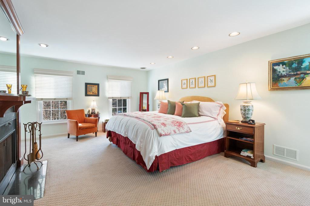Master Suite w FP and Connecting Dressing Room - 9927 S GLEN RD, POTOMAC