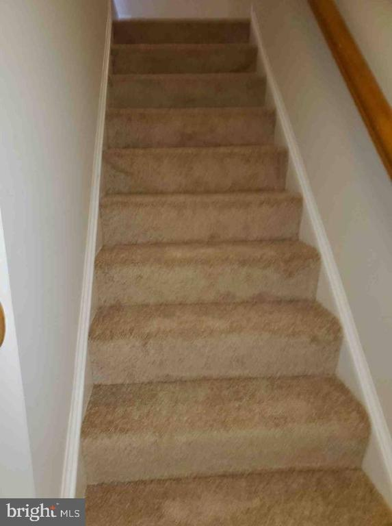 Lower Level  - Staircase - 9226 KRISTY DR, MANASSAS PARK