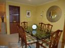 Spacious Dining Room off Kitchen - 1300 S ARMY NAVY DR #1005, ARLINGTON