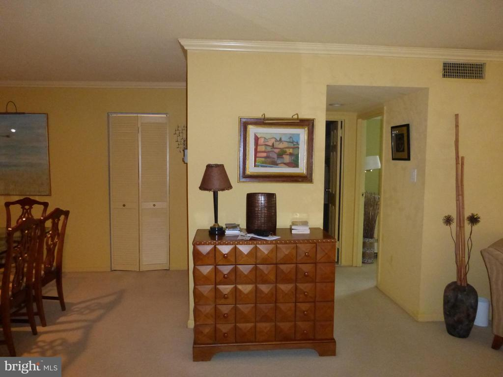 Designer chest conveys if you buy furnished - 1300 S ARMY NAVY DR #1005, ARLINGTON