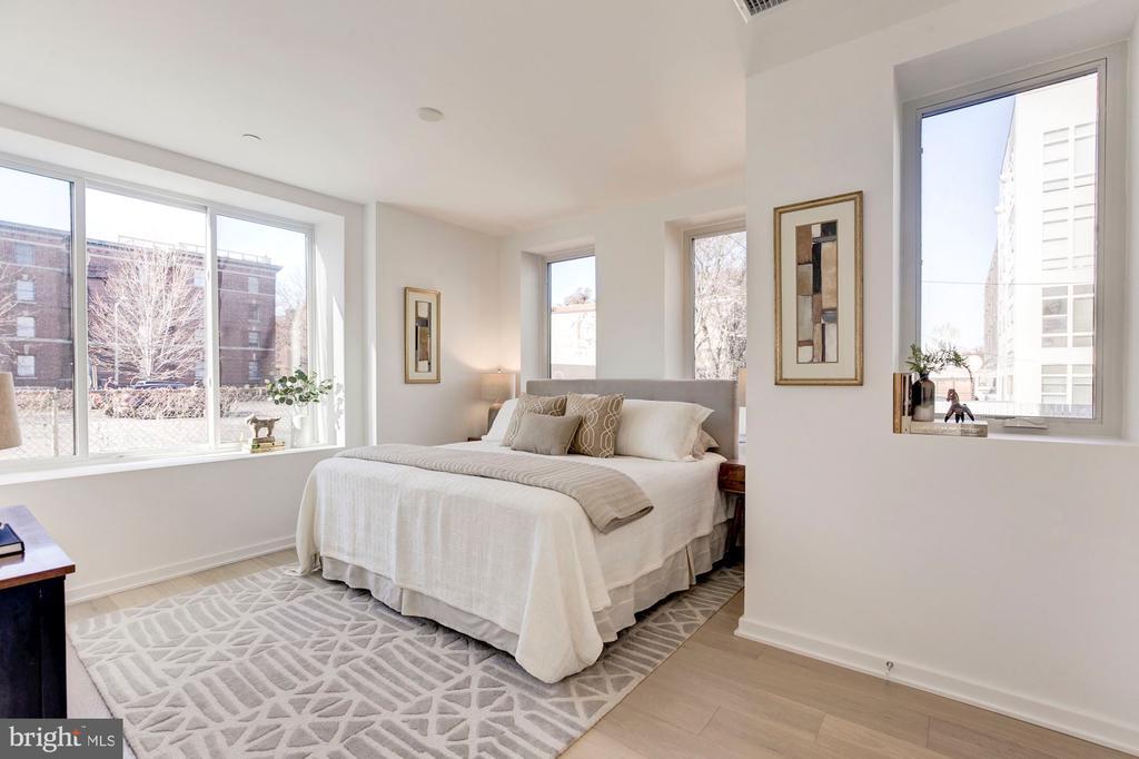 Master bedroom - 1101 Q ST NW #202, WASHINGTON