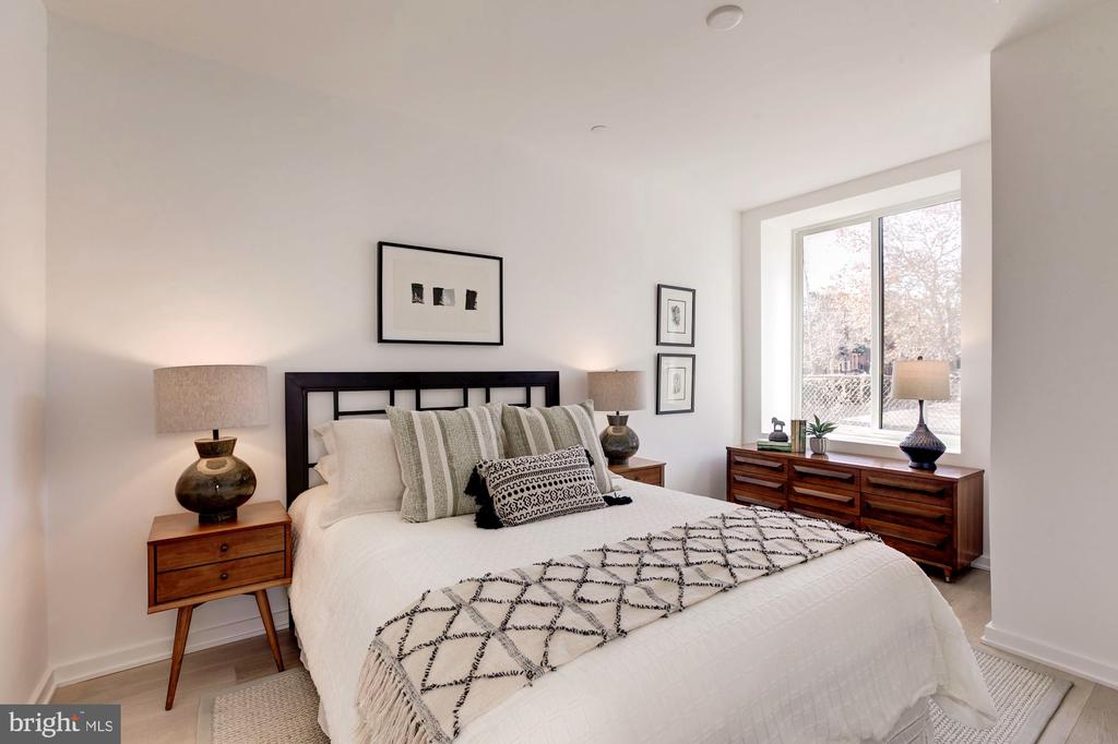 Guest bedroom - 1101 Q ST NW #202, WASHINGTON