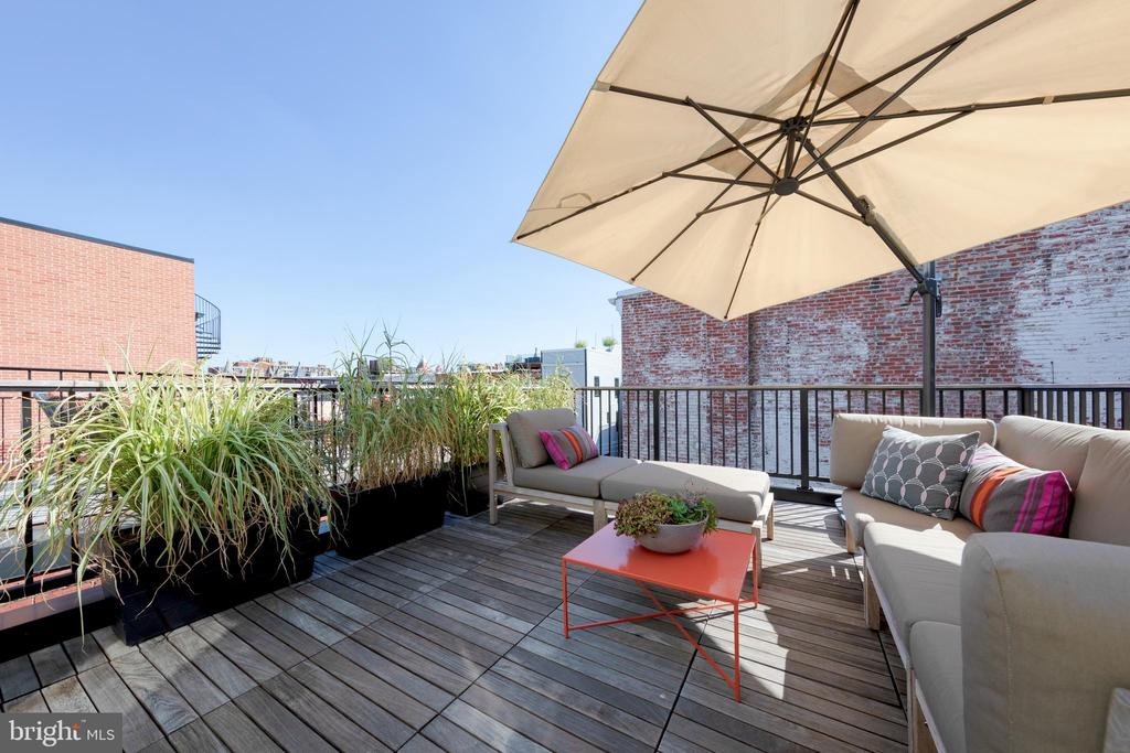 Roof Deck - 950 WESTMINSTER ST NW, WASHINGTON