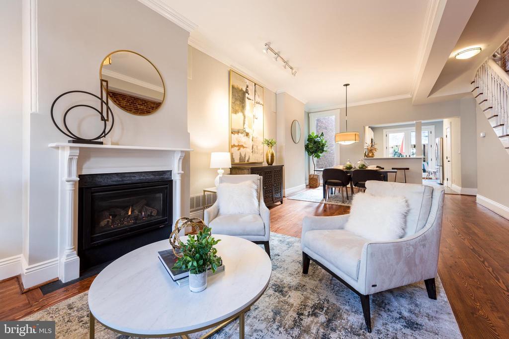 Living Room - 950 WESTMINSTER ST NW, WASHINGTON