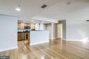 Open layout - 1201 N GARFIELD ST #803, ARLINGTON