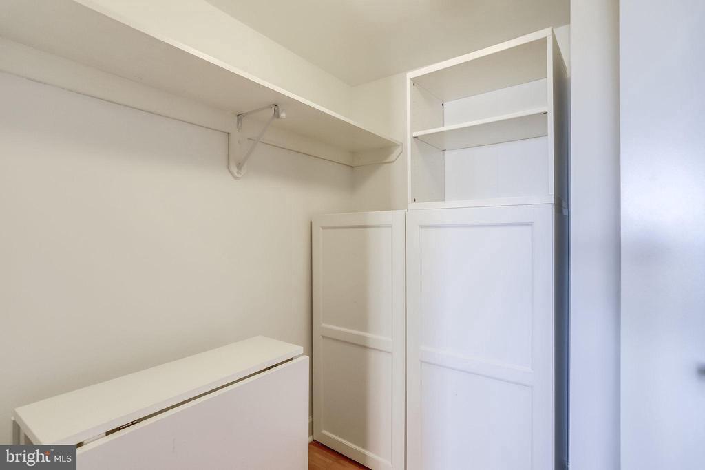 Walk-in closet - 1201 N GARFIELD ST #803, ARLINGTON