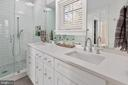 Gorgeous Owners Suite Bath - 3810 POWHATAN RD, HYATTSVILLE