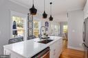 Large Kitchen Island - 3810 POWHATAN RD, HYATTSVILLE