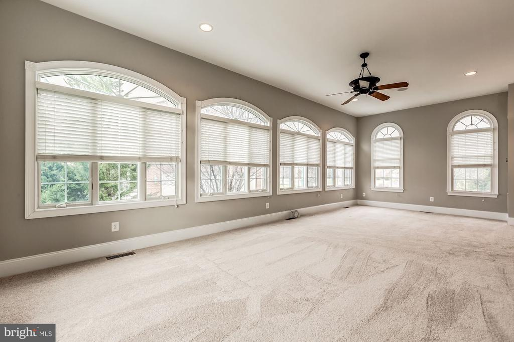 Bonus conservatory/sunroom with walls of windows - 19999 BELMONT STATION DR, ASHBURN