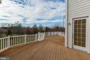 Huge Trex deck with serene views - 19999 BELMONT STATION DR, ASHBURN