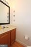 Main level powder bathroom - 505 BRECKINRIDGE SQ SE, LEESBURG