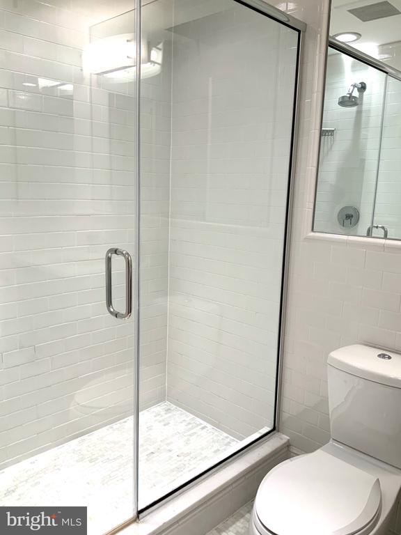 Standing Shower  Master Bath #2 - 1324 FAIRMONT ST NW #B, WASHINGTON