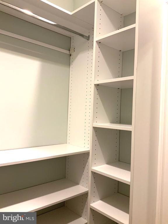 Master Bedroom #2  Walk-In Closet - 1324 FAIRMONT ST NW #B, WASHINGTON
