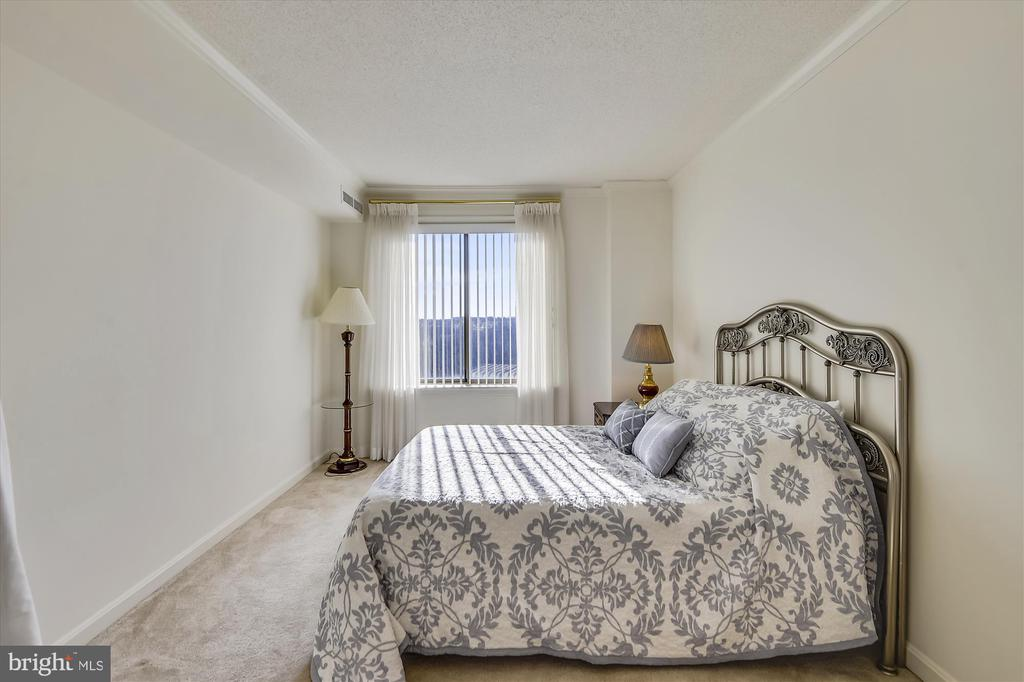 Large second bedroom with amazing views. - 19385 CYPRESS RIDGE TER #920, LEESBURG