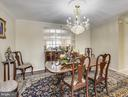 Elegant formal dining room. - 19385 CYPRESS RIDGE TER #920, LEESBURG