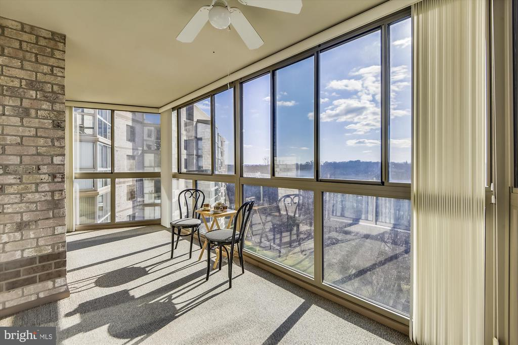 Enjoy sunsets from your ninth floor view. - 19385 CYPRESS RIDGE TER #920, LEESBURG