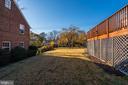 Flat and Expansive Backyard - 4858 ALBEMARLE ST NW, WASHINGTON