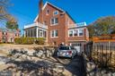 Side View off of 49th Street - 4858 ALBEMARLE ST NW, WASHINGTON