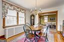 Dining Room - 4858 ALBEMARLE ST NW, WASHINGTON