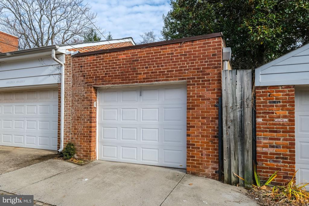 Detached Garage with Alley Access - 1614 34TH ST NW, WASHINGTON