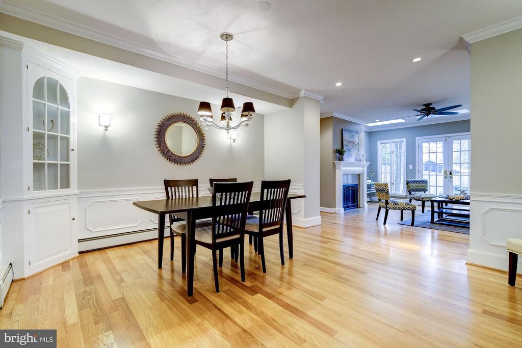 Dining Room - 1614 34TH ST NW, WASHINGTON