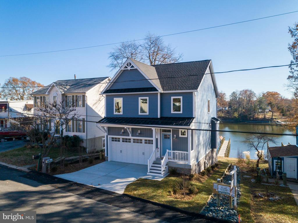 Waterfront Brand New Construction - 845 S SHORE DR, GLEN BURNIE
