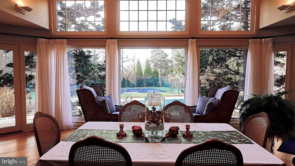 Unbelievable View of the Backyard From Great Room - 9927 S GLEN RD, POTOMAC